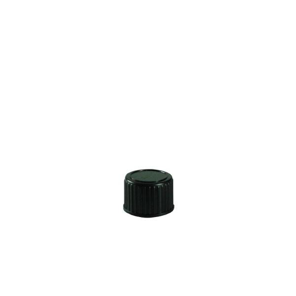 Violettglas Deckel schwarz DIN18