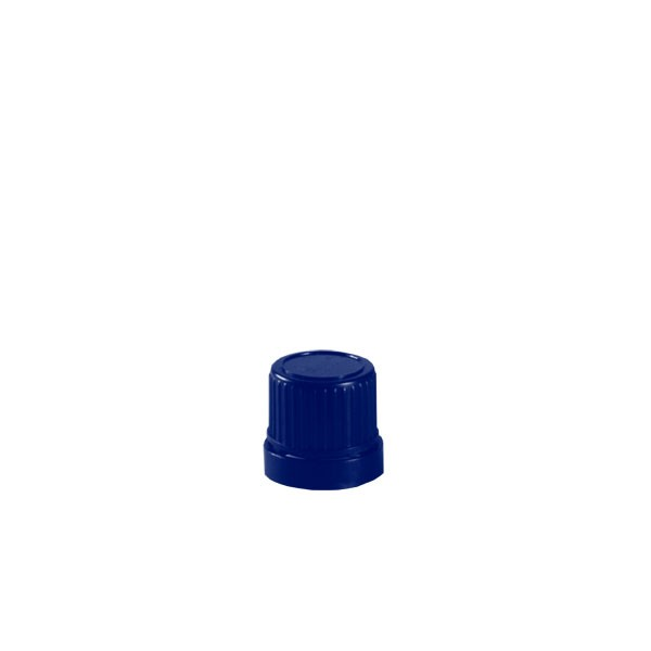 Violettglas Deckel blau DIN18