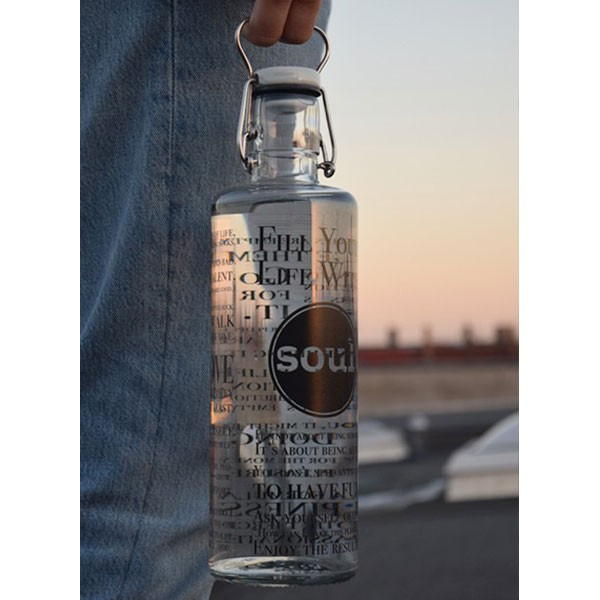 soulbottles 1,0L Fill your Life with Soul