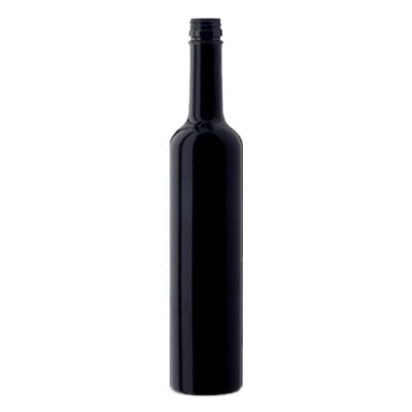 MIRON Violettglas Flasche 0,5 L