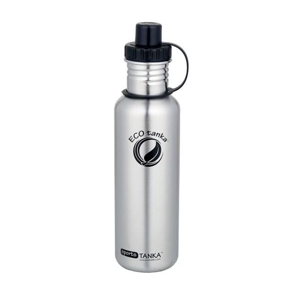 Hochwertige, leichte, langlebige Trinkflasche aus Edelstahl.