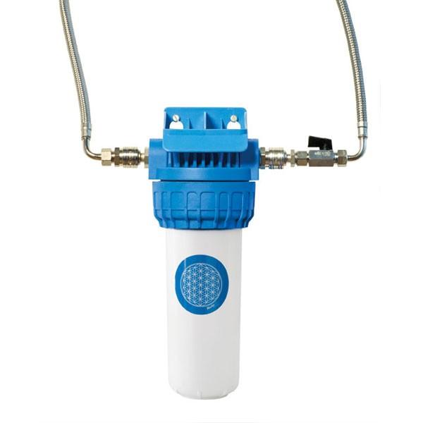 Aktivkohle Block Filter entfernen sicher Schwermetalle und Arzneimittelrückstände aus dem Leitungswasser. Untertischfilter zum festen Einbau in die Kaltwasserleitung.