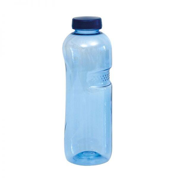 Tritan™ Trinkflasche mit blauem Deckel