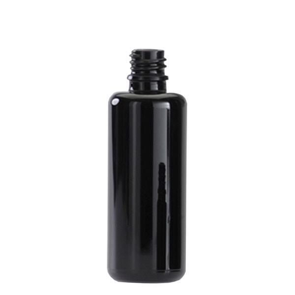Violettglas Flasche DIN18 ohne Deckel