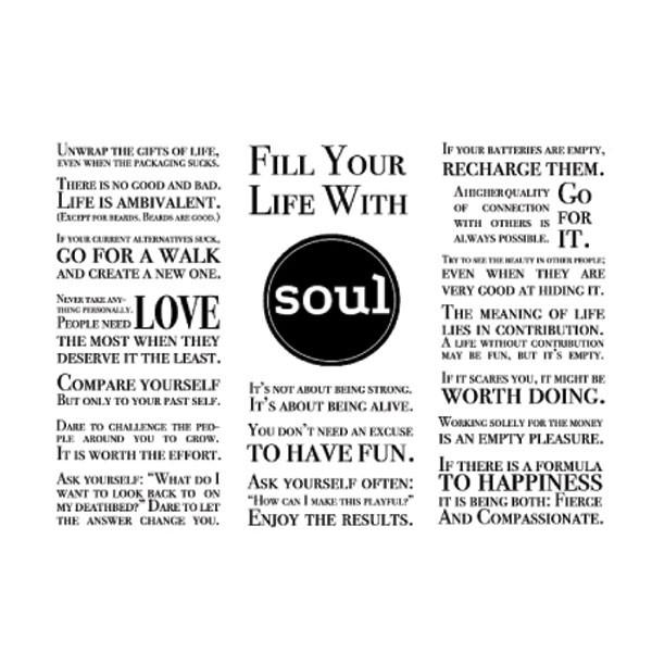 soulbottles 0,6L Fill y. life w. soul